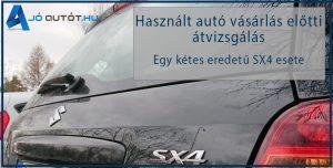 Használt autó vásárlás előtti átvizsgálás esettanulmány, joautot.hu